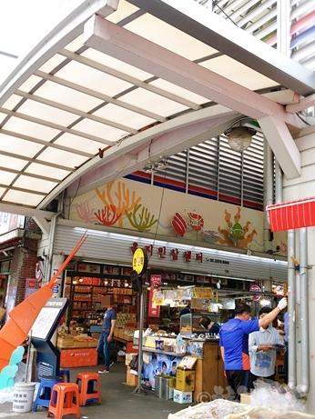 韓国 市場 中部市場 乾物 乙支路4街