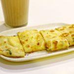 台湾グルメ 南京復興 朝食 チーズ入り 蛋餅 味鼎