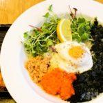 韓国グルメ COEX シェフのうどん カルグクス 明太バターご飯
