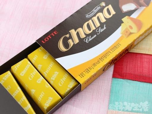 ガーナ チョコ チーズ入り