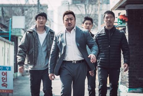韓国映画 犯罪都市 マ・ドンソク ユン・ゲサン