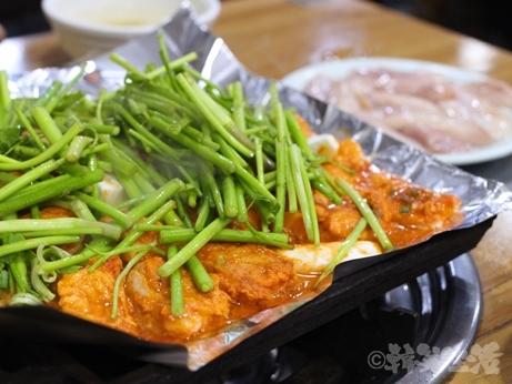 韓国グルメ 乙支路3街 忠武路 釜山ポッチプ ふぐ料理 フグプルコギ