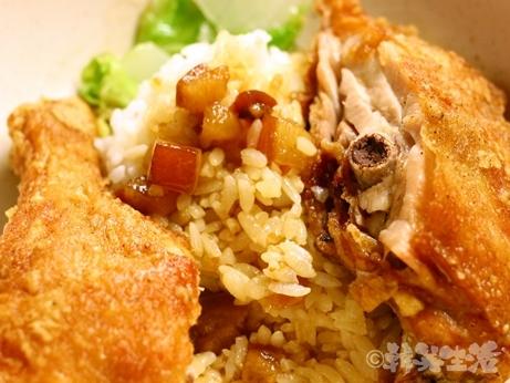 台湾 魯肉飯 名家魯肉飯 炸鶏腿