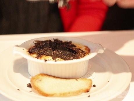 麻布十番 イタリアン ヴィアブリアンツァ VIA Brianza ディナー トリュフのオーブン焼き