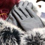 韓国 ソウル 買い物 光熙市場 革手袋 ラムレザー ファー