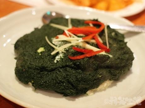 恵比寿 ネパール料理 クンビラ アンジャッシュ 渡部 ほうれん草 豆腐