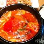 新宿 韓国料理 韓感 チゲ