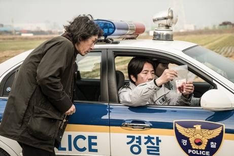 韓国映画 殺人者の記憶法 ソル・ギョング キム・ナムギル