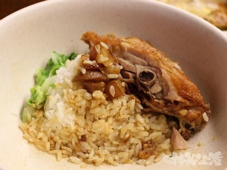 台北 雙連 名家魯肉飯 フライドチキン