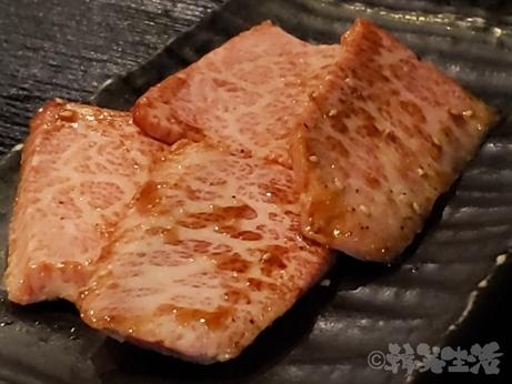 肉 正剛 西日暮里 炭火焼肉 上カルビ