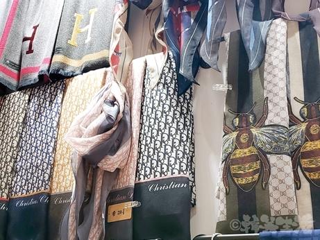 東大門 平和市場 スカーフ ストール ディオール エルメス