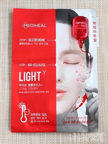 韓国コスメ メディヒール シートマスク 2ステップ
