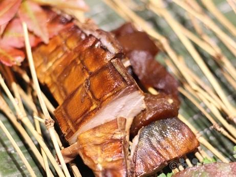 広尾 白金 恵比寿 中華料理 蓮香 サバのスモーク 黒酢生姜
