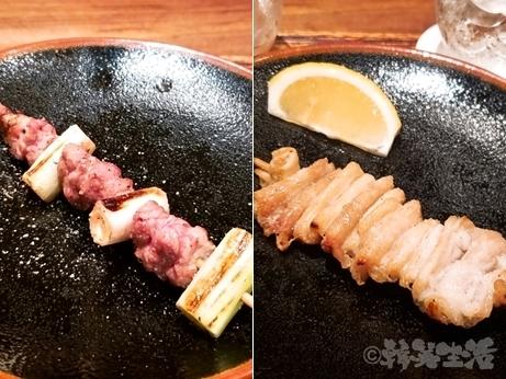 新宿 ミシュラン 鳥茂 焼き鳥 焼きとん おまかせコース 大腸 こめかみ