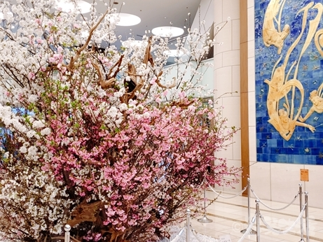 東京ドームホテル 花見 草月流