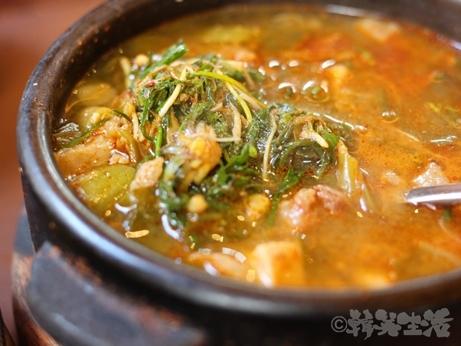 韓国グルメ ソウル 仁寺洞 お一人様 モクサル定食 味噌チゲ テンジャンチゲ ドマ