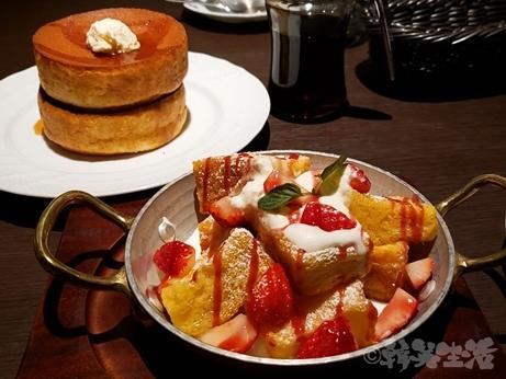 星乃珈琲店 パンケーキ スフレパンケーキ フレンチトースト 新宿 カフェ
