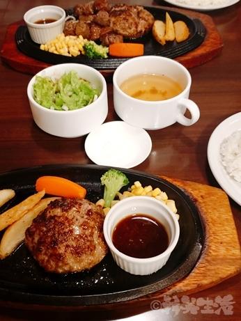 宮﨑亭 塩で食べるハンバーグ 宮崎牛 ステーキ 池袋