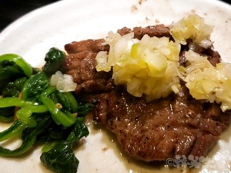 肉 正剛 西日暮里 炭火焼肉 厚切りタン 上タン