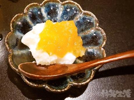 銀座 魚勝 コース料理 嶺岡豆腐