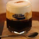韓国グルメ カフェ ソウル 乙支路 乙支豆 ウルチビン アインシュペナー