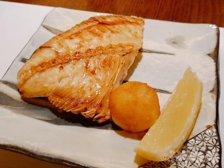 恵比寿 米福 土鍋ごはん コース料理 焼魚