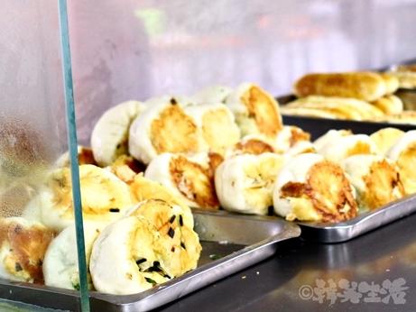 台湾グルメ 朝食 永和豆漿 民生店 韮菜水煎包