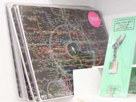 韓国 路線図 地図 デザイン マウスパッド ハート型 ゼロパーゼロ ゼロスペース