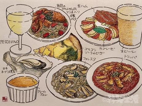 麹町 タベルナ 人生最高レストラン 酒子 イラスト