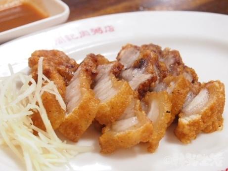 周記肉粥店 龍山寺 朝食 紅焼肉