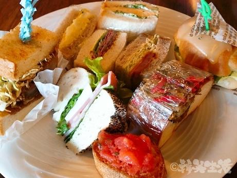 ニューオータニ いちごビュッフェ SATSUKI サンドイッチ