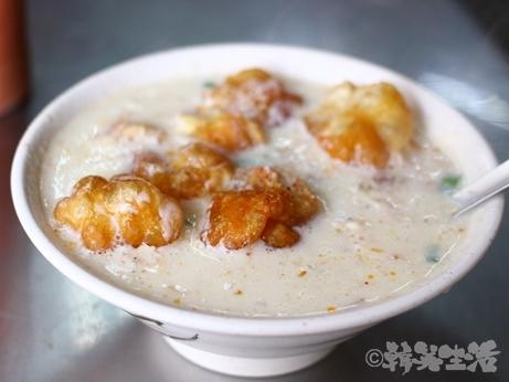 台北 朝食 津津豆漿 鹹豆漿