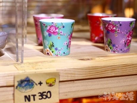 李品製作所 お土産 客家花柄 茶器