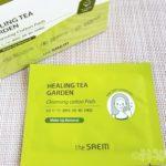 韓国コスメ クレンジング 拭き取り 個装 クレンジングパッド 緑茶