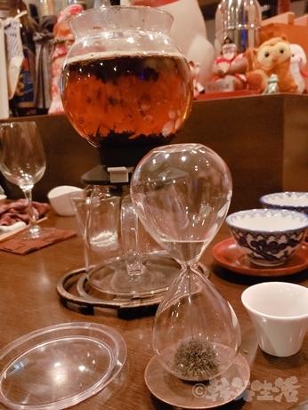 赤坂 会員制 和食 居酒屋 逆立ち狸 ほうじ茶