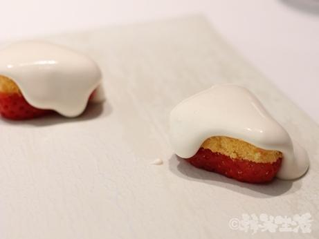 カンテサンス フレンチ 品川 ケーキ