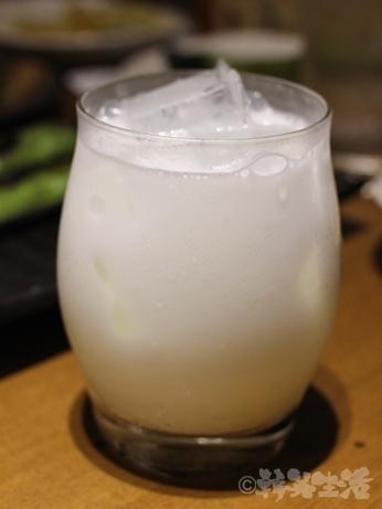 中目黒 なかめのてっぺん 炉端焼き ヨーグルト酒