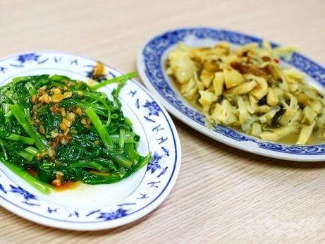 金峰魯肉飯 魯肉飯 空心菜 筍乾