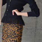 江南 地下ショッピングセンター 洋服 韓国ファッション ヒョウ柄 ダルメシアン