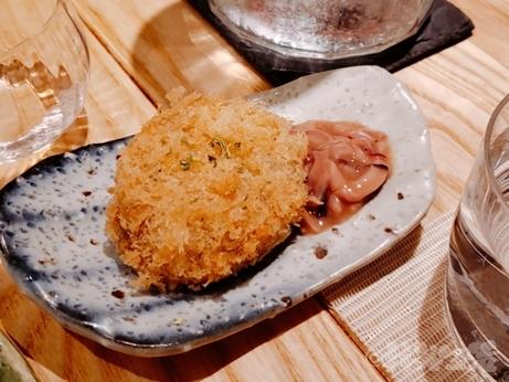 """=""""恵比寿 代官山 秀治郎 日本酒 コロッケ"""