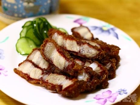 三娘香菇肉粥 台北 朝食 お粥 唐揚げ