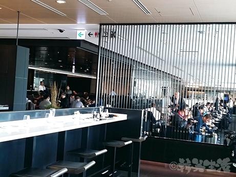 羽田空港 ANA 国際線 ラウンジ