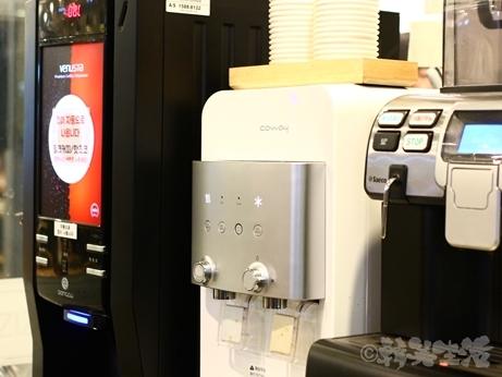 韓国グルメ ソウル 24時間営業 食堂 ちゃんぽん ジャージャー麺 コーヒー サービス