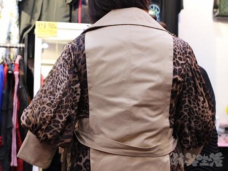 韓国 買い物 洋服 GOTOMALL GOTOモール コート ヒョウ柄 レオパード