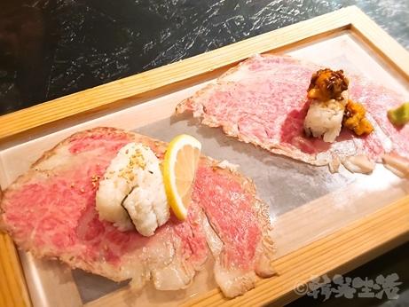焼肉 低温調理 29ON ニクオン 池袋 コース 肉寿司
