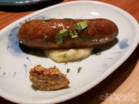 中野 レンガ坂 洋食堂 葡萄 ソーセージ
