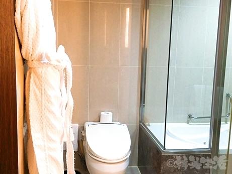 ソウル ロッテシティホテル麻浦 孔徳 ホテル 部屋 ダブル バスルーム