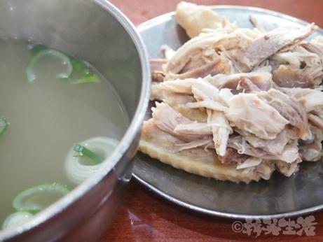 ソウル 馬場駅 タッコムタン 鶏の水炊き