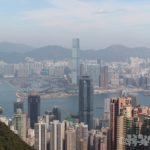 香港 観光 ヴィクトリアピーク 景色