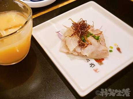 銀座 魚勝 コース料理 ペアリング 日本酒 焼きしゃぶ